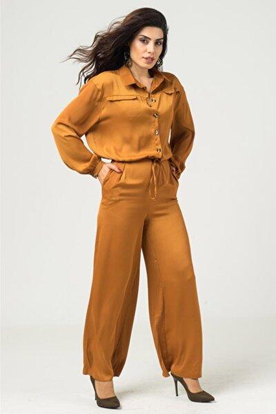 Gömlek Pantolon Takım 728w2015 - Taba-m