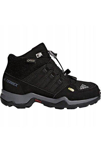 Genç Outdoor Ayakkabısı Spor Siyah Bb1952 Terrex Mid Gtx