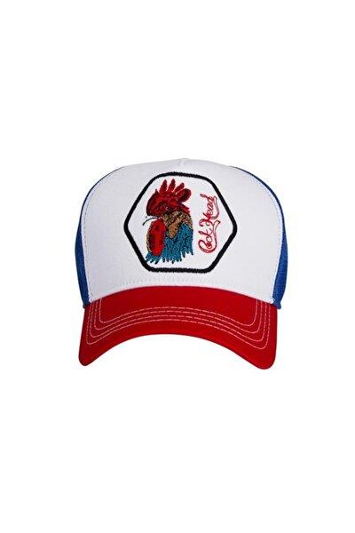 Rooster Cap Beyaz Spor Şapka (20.02.01.013-c04)