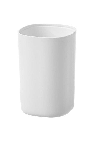 Storavan Plastik Dekoratif Diş Fırçalık - Beyaz