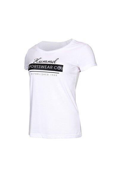 HMLRUBY T-SHIRT S/S Beyaz Kadın T-Shirt 100580964