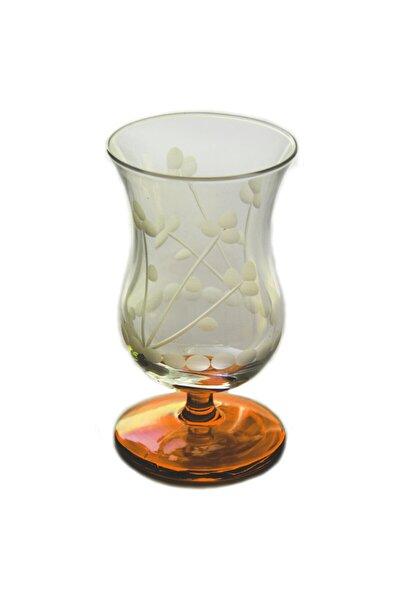Papatya (Turuncu) Gala Çay Ve Kahve Bardağı 4 Adet
