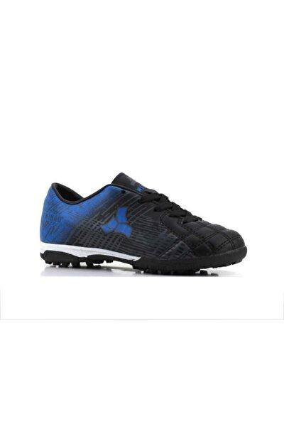 205 Erkek Çocuk (28-35) Siyah Halı Saha Futbol Ayakkabı