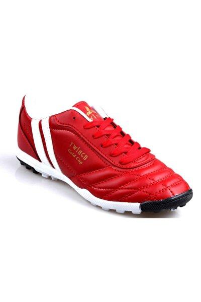 134 Erkek Kırmızı Halı Saha Futbol Ayakkabı