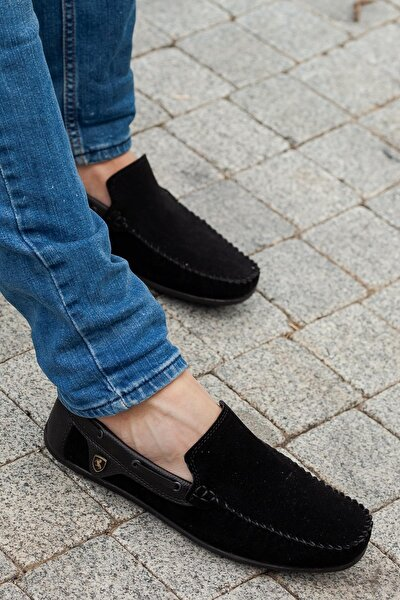 Siyah Erkek Casual Ayakkabı DPRMGM3474001