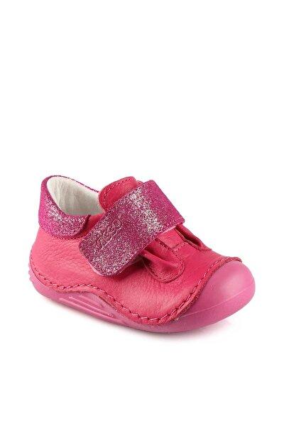 918.19Y.003 İLK ADIM DERI Fuşya Kız Çocuk Basic Casual Ayakkabı 100530421
