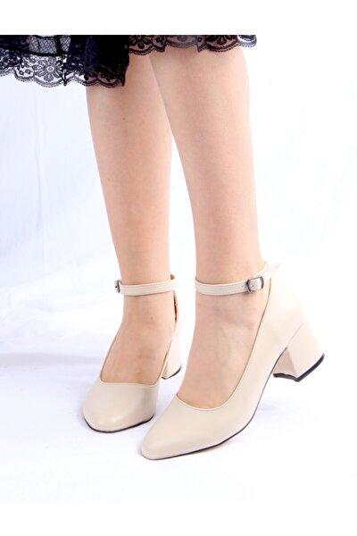 Kadın Ten Cilt Ayakkabı