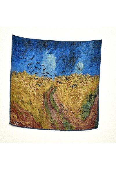Van Gogh Desenli Bandana Fular