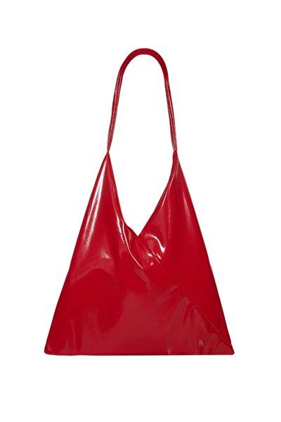 Kadın Kırmızı Tek Askılı İris Çanta