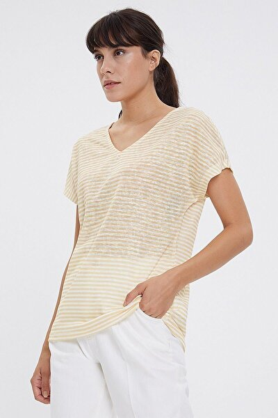 Regular Fit Kadın Tshirt Kısa Kol T-shırt