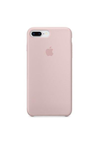Toz Pembe Apple Iphone 7 Plus Lansman Kılıf - Içi Süet