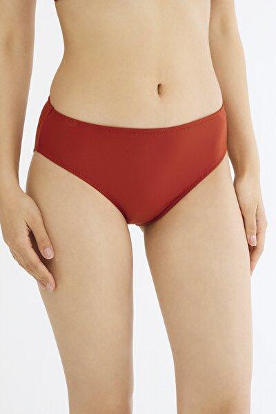 Turuncu Basic Cover Bikini Altı