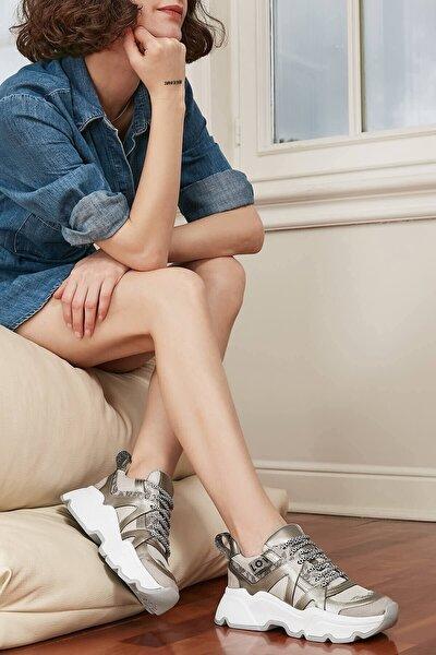 Joyce Gümüş Sneaker