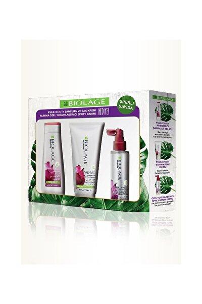 Fuldensity Şampuan + Saç Kremi + Yoğunlaştırıcı Bakım Spreyi 8690595834825