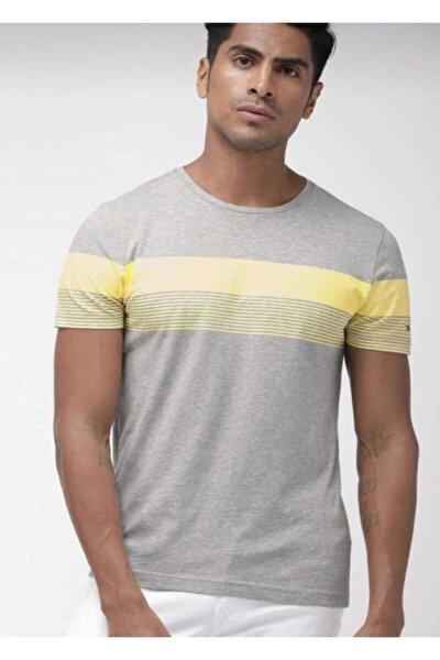 Stripe Print Logo Men - Erkek T-shirt