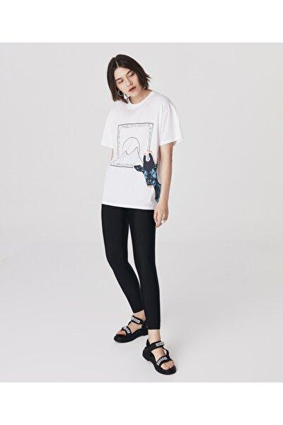 Grafik Baskı T-shirt