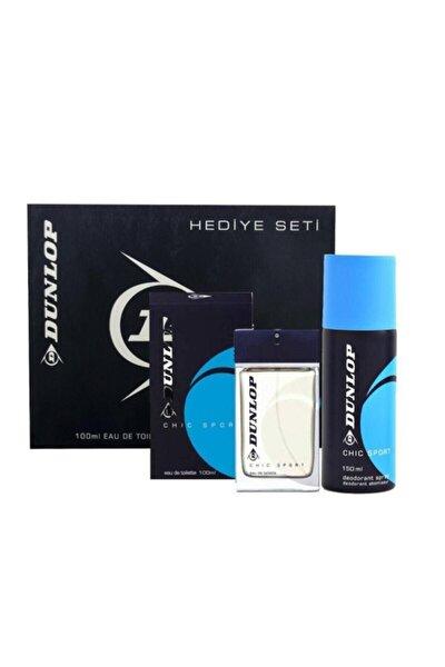 Erkek Klasik Mavi Edt 100 Ml + 150 Ml Deodorant Parfüm Seti 8690587202908