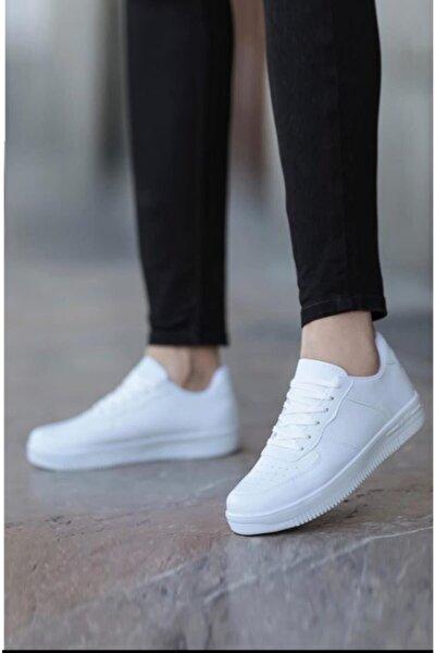Beyaz Unisex Sneaker Ayakkabi