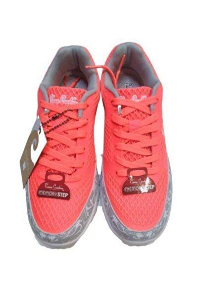 Kadın Spor Ayakkabı Memory Air Taban Hafif Koşu Yürüyüş Mercan