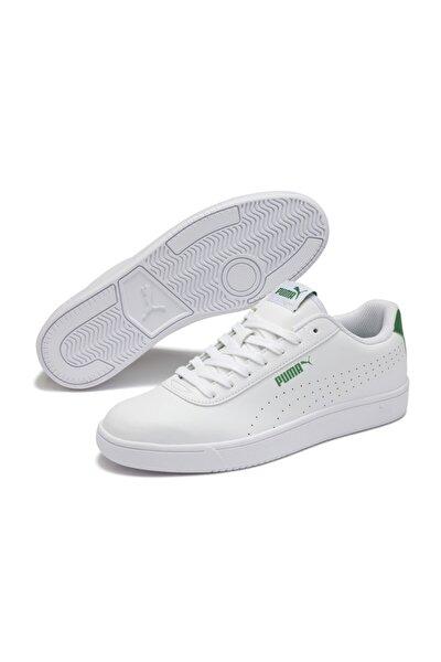 Unisex Beyaz Bağcıklı Yürüyüş Ayakkabısı