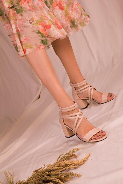 Ten Kadın Klasik Topuklu Ayakkabı 14670