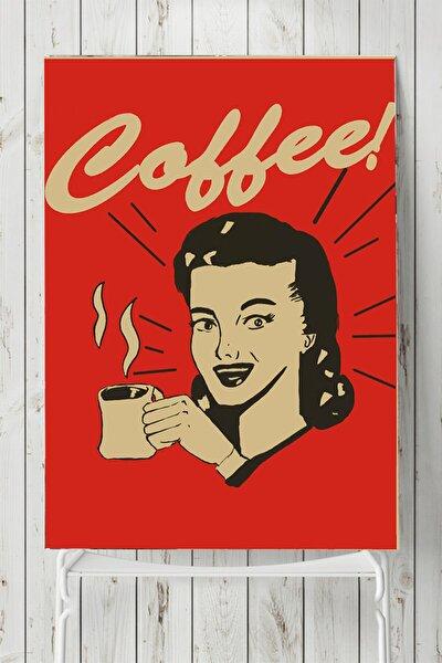 Coffe Girl Mutfak Poster (50x70cm)