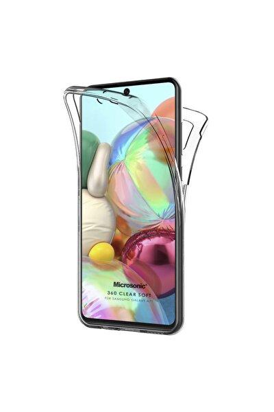 Microsonic Galaxy A71 Kılıf 6 Tarafı Tam Full Koruma 360 Clear Soft Şeffaf