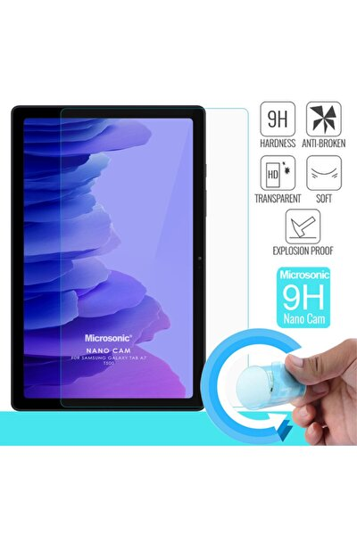 Microsonic Galaxy Tab A7 T500 Nano Glass Cam Ekran Koruyucu