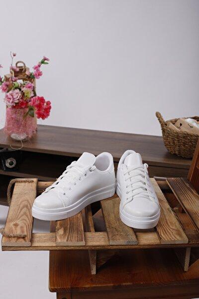 Scoperta Unısex Bağcıklı Sneaker Günlük Ayakkabı
