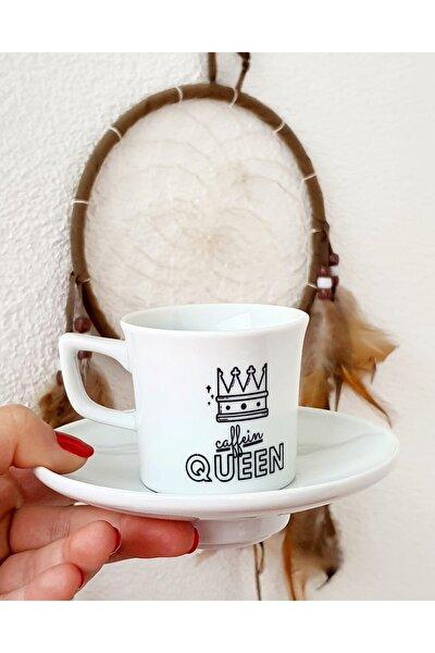 Queen Porselen Türk Kahvesi Fincanı