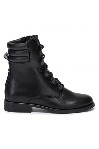 Pın Logo Lace Up Boot