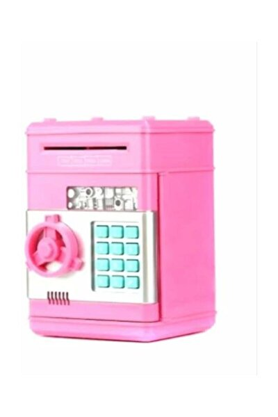 Şifreli Kasa Atm Elektronik Kumbara-pembe