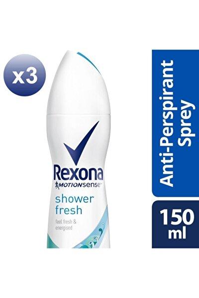 Kadın Deodorant Sprey Shower Fresh 150 ml X3