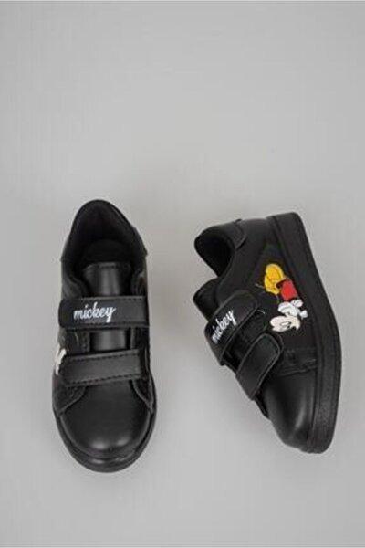 Çocuk Mickey Spor Ayakkabı Siyah