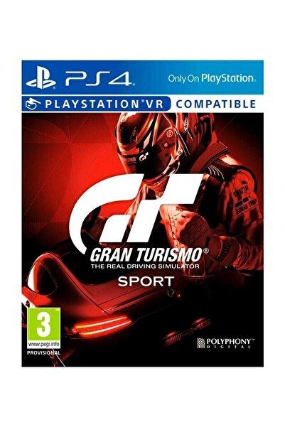 Gran Turismo Gt Sport Vr - Türkçe Menü Ps4 Oyun