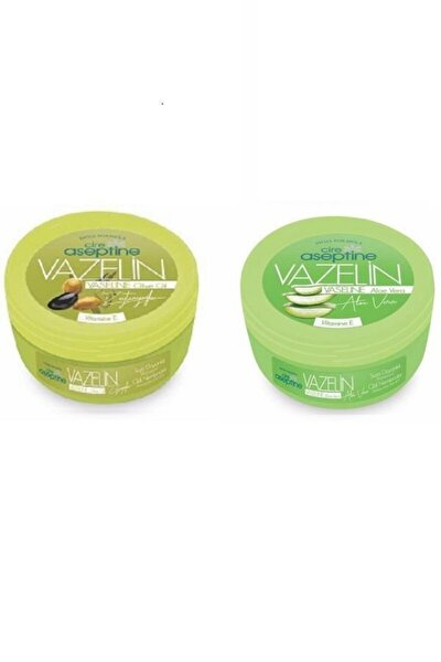Vazelin 150 Ml Zeytinyağlı + Vazelin 150 Ml Aloe Vera (2 Ürün)