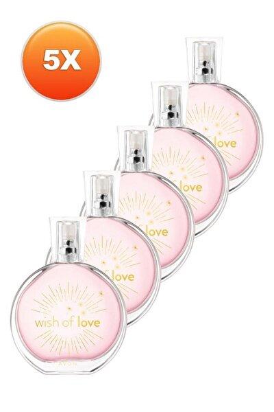 Wish Of Love Kadın Parfüm Edt 50 Ml 5'li Set