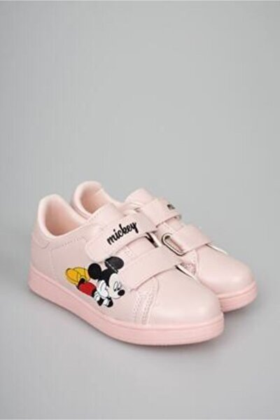 Uniseex Çocuk Pudra Mickey Spor Ayakkabı