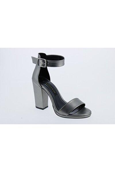 Kadın Gri Topuklu Ayakkabı