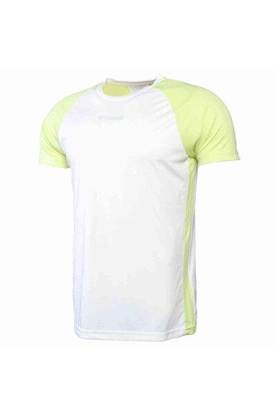 Erkek Beyaz Teo Kısa Kollu Tişört