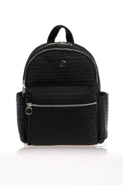 Smb3023-0001 Siyah Kadın Sırt Çantası