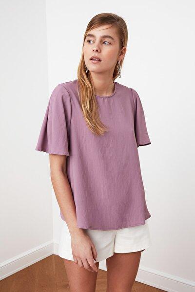 Lila Basic Bluz TWOSS21BZ0635