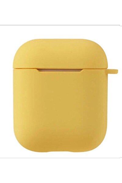 Sarı 2. Nesil Airpods Kılıfı