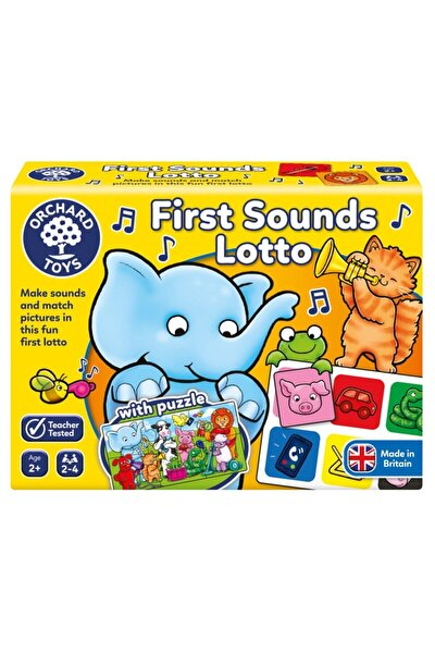 First Sounds Lotto And Puzzle (ses Eşleştirme) 100 2 Yaş+