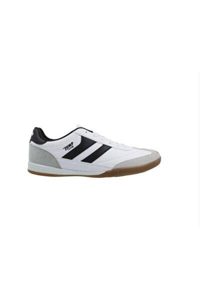 18089 Merdane Beyaz Siyah Spor Beyaz Ayakkabı
