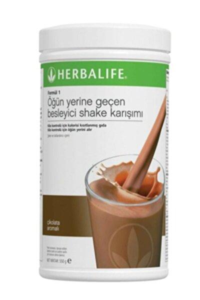Formül 1 Öğün Yerine Geçen Besleyici Shake Karışımı Çikolata 550 gr