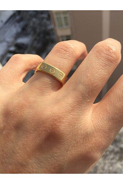Çelik Gold Cartier Alyans Yüzük