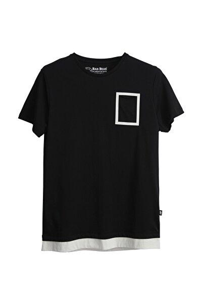 Erkek Siyah Tişört Margın Tee