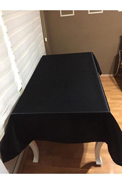Siyah  Leke Tutmaz Masa Örtüsü