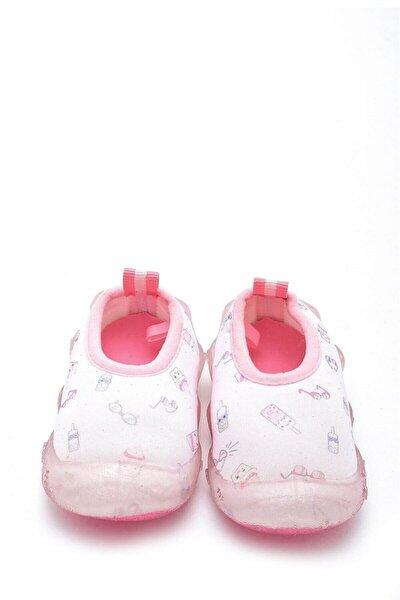 Kız Çocuk Pembe Deniz Ayakkabısı f-474